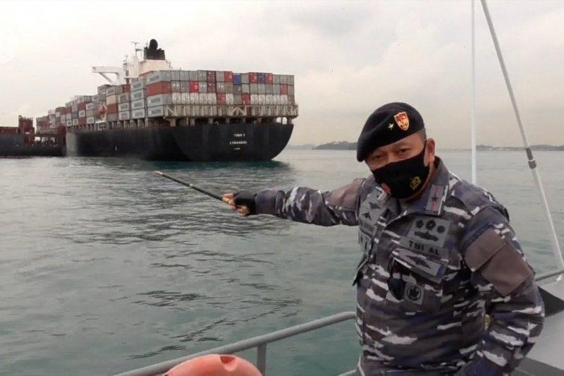 TNI AL ingatkan potensi kecelakaan di Perairan Batu Berhenti