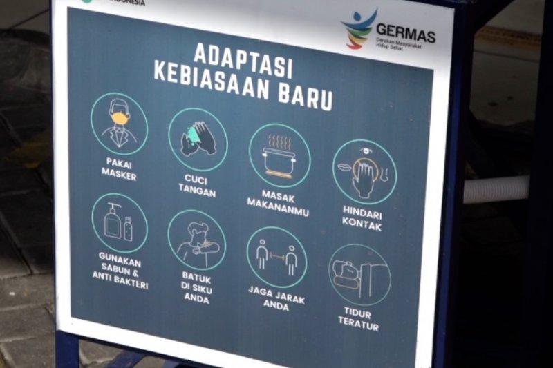 Kemenkes sosialisasi protokol kesehatan di Pasar Gondangdia