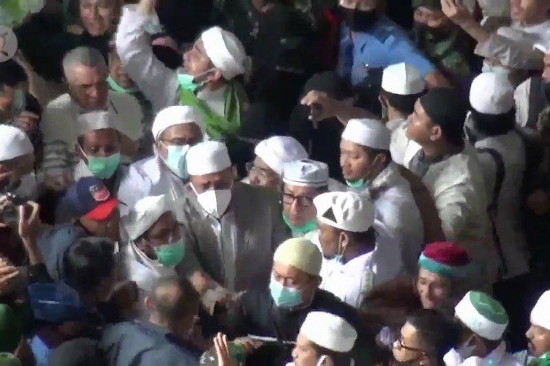 Pemerintah sesalkan pelanggaran protokol kesehatan dalam acara Rizieq Shihab