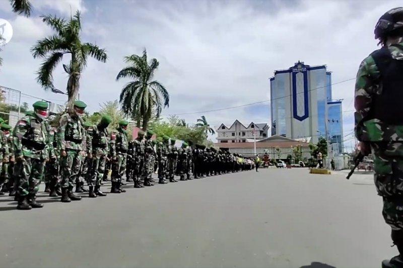 Antisipasi HUT OPM, 700 personel TNI-Polri disiagakan di Jayapura