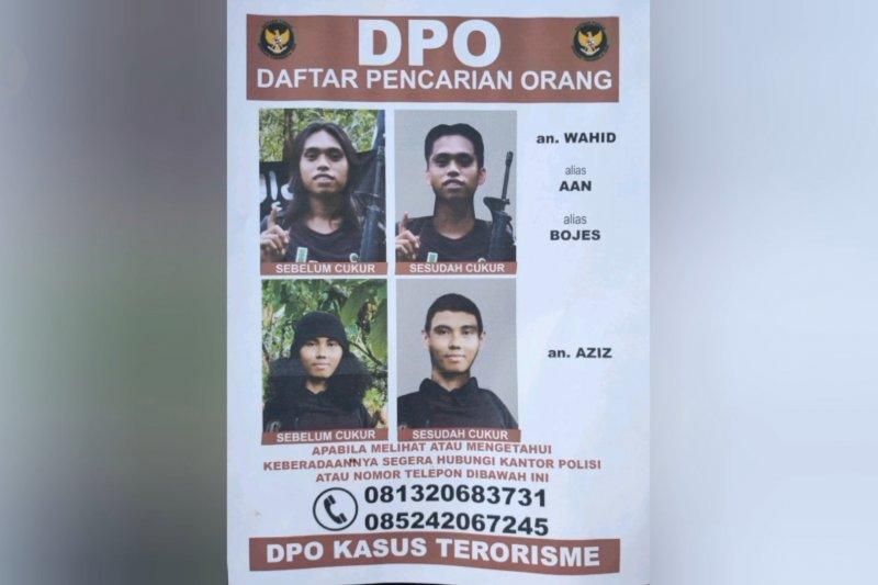 Polisi perluas pengejaran dua anggota MIT Poso
