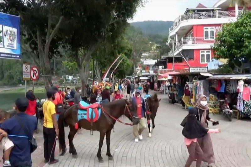 Telaga Sarangan dikunjungi 32 ribu wisatawan