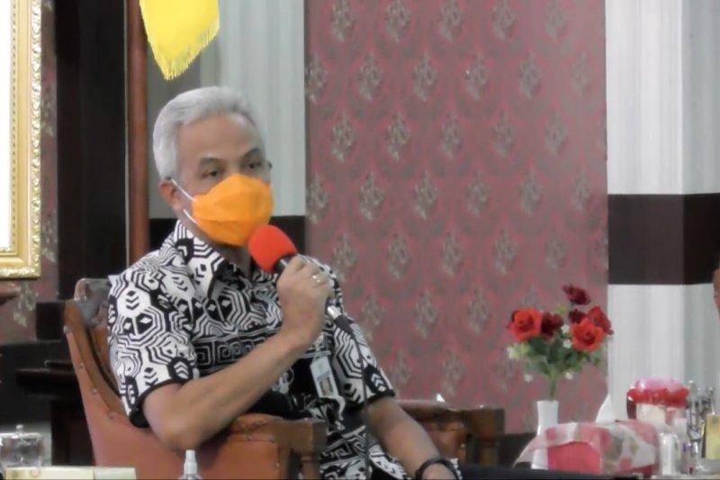 Ganjar Pranowo ajak masyarakat jaga sikap toleransi di tengah pandemi
