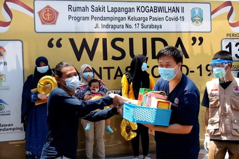 Relawan di Surabaya sumbang buku bacaan untuk pasien COVID-19