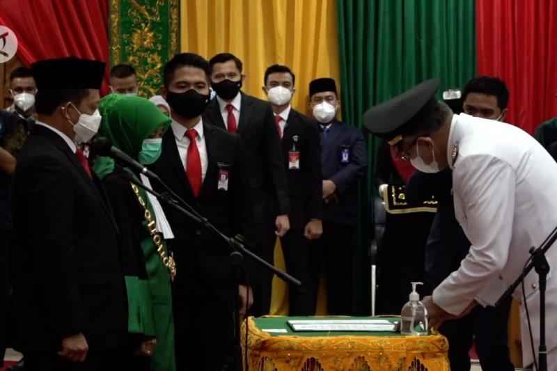 Resmi jabat Gubernur Aceh, Nova Iriansyah janji akan transparan
