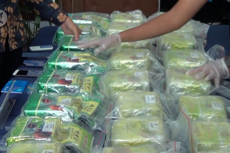 BNN Kepri ungkap peredaran 33 kilogram sabu asal Malaysia