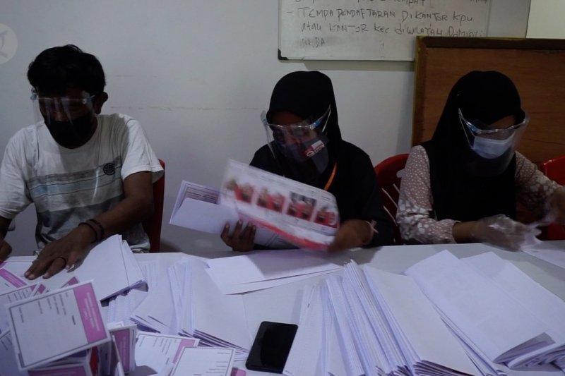 KPU Ternate libatkan mahasiswa sortir surat suara
