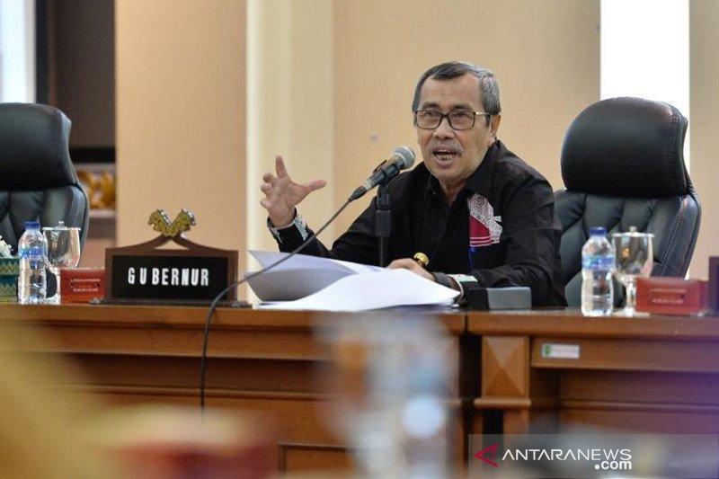 Gubernur Riau jalani pemulihan setelah negatif COVID-19