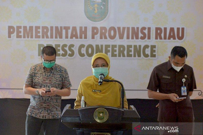 Pejabat Riau terpapar COVID-19 dari klaster dharma wanita