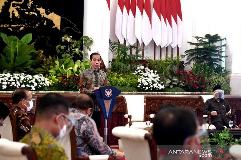 Presiden Jokowi minta belanja negara 2021 mulai direalisasi awal tahun