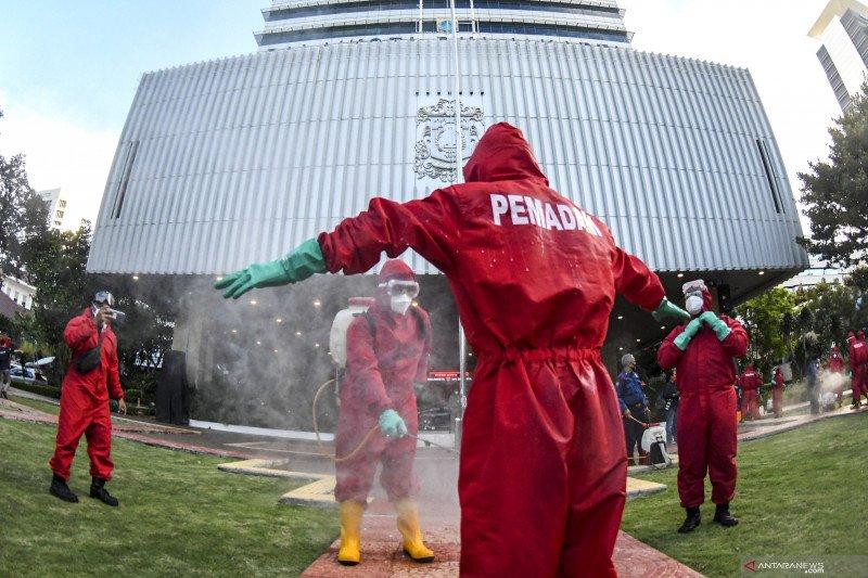 Pemprov DKI kerahkan 260 petugas lakukan disinfeksi selama tiga hari