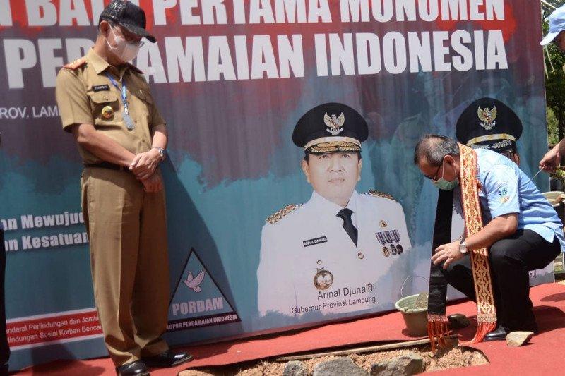Mensos kukuhkan Pelopor Perdamaian Indonesia