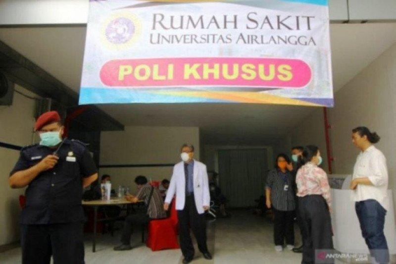 Ruangan di RSUA Surabaya penuh akibat meningkatnya pasien COVID-19