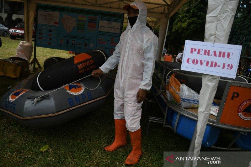 Perahu COVID-19 dipastikan siaga di pengungsian banjir