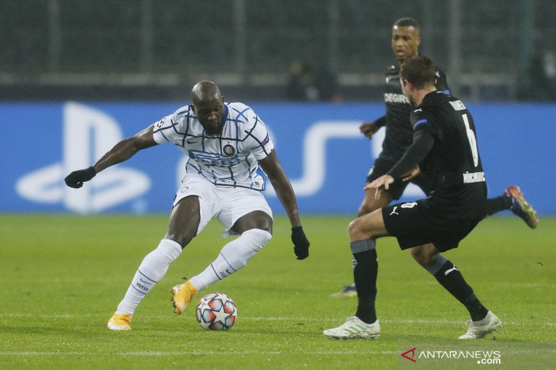 Liga Champions: Inter kalahkan Borussia Moenchengladbach 3-2