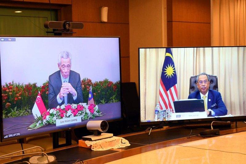 PM Malaysia dan Singapura bicarakan proyek HSR