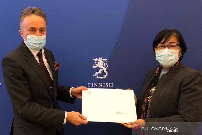 Dubes RI serahkan surat kepercayaan kepada Presiden Finlandia