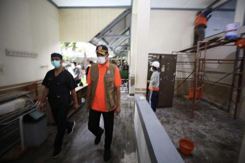 Kepala BNPB tinjau persiapan RS lapangan di Kota Malang