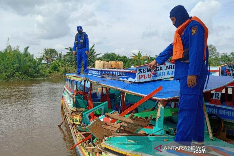 Satu orang tewas dalam tabrakan dua kapal cepat di Musi Banyuasin