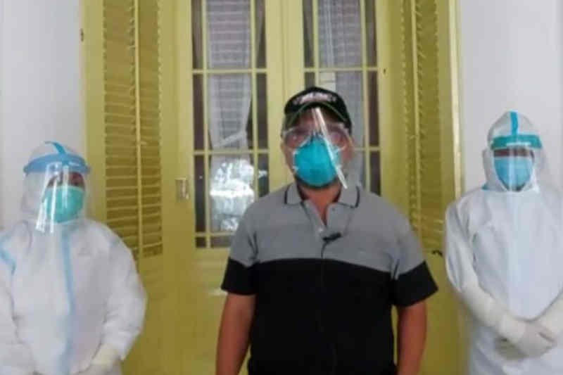 Tim medis perbolehkan Bupati Cirebon isolasi mandiri