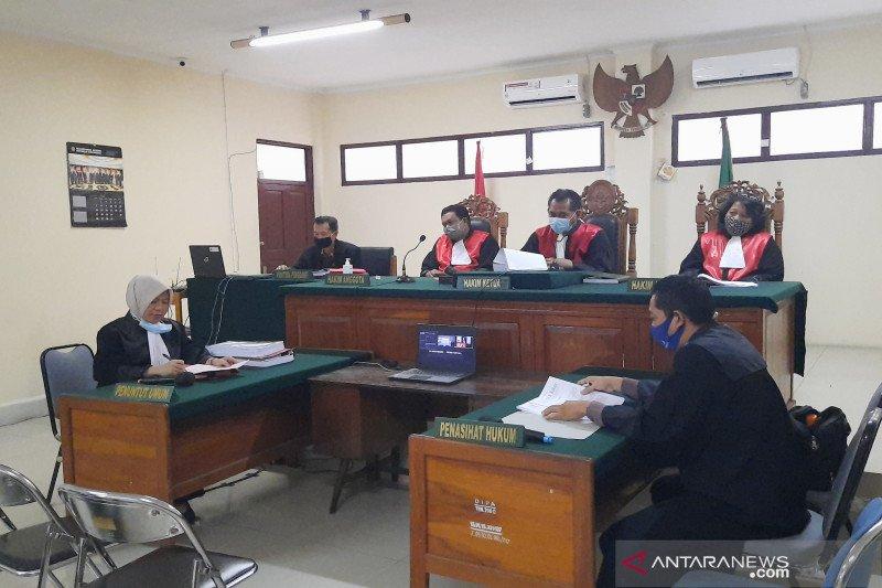 Empat kurir 300 kg sabu-sabu jalani sidang perdana di PN Banjarmasin