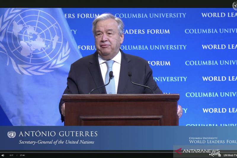 Sekjen PBB: Berdamai dengan alam tugas paling penting di abad ke-21