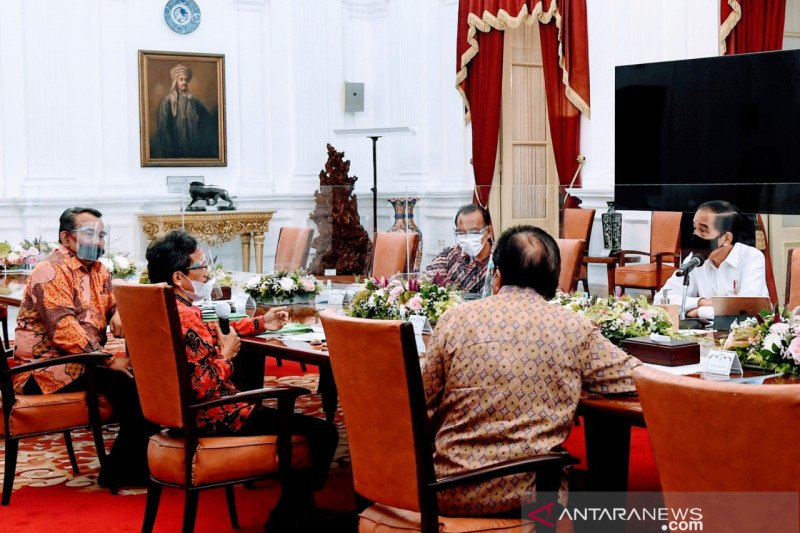 Presiden Jokowi temui pegiat reforma agraria bahas sengketa lahan