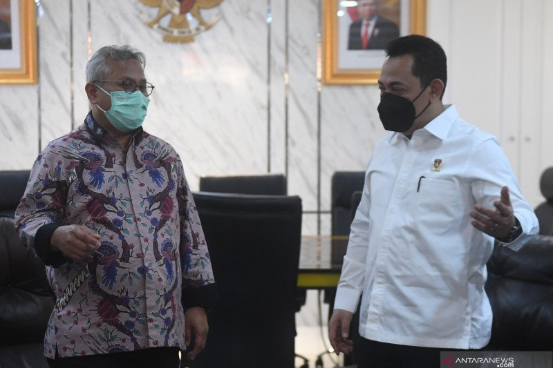 Kabareskrim koordinasi keamananan dengan ketua KPU
