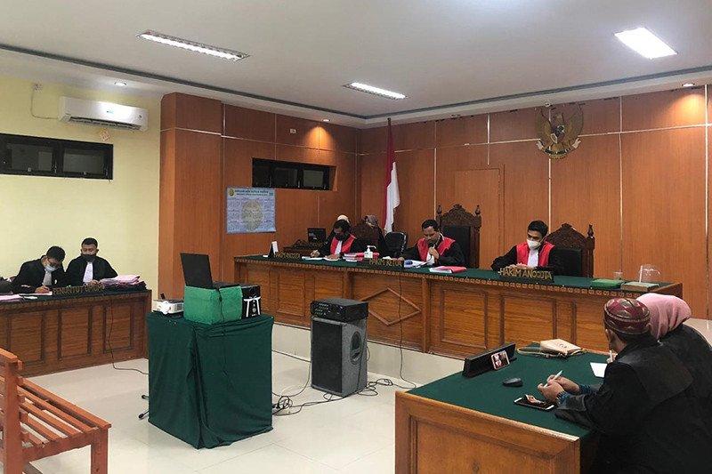 Hakim vonis mati terdakwa penyelundupan 45 kilogram sabu-sabu