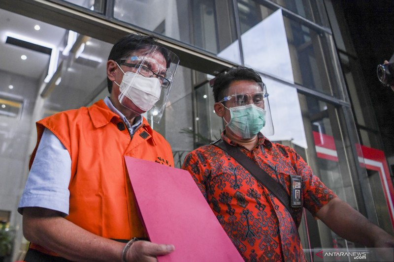 KPK jelaskan konstruksi perkara eks petinggi Garuda Hadinoto Soedigno