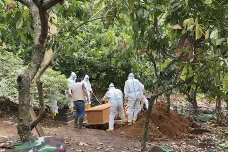 Kasus meninggal akibat COVID-19 Lampung bertambah 5 total 206 kematian