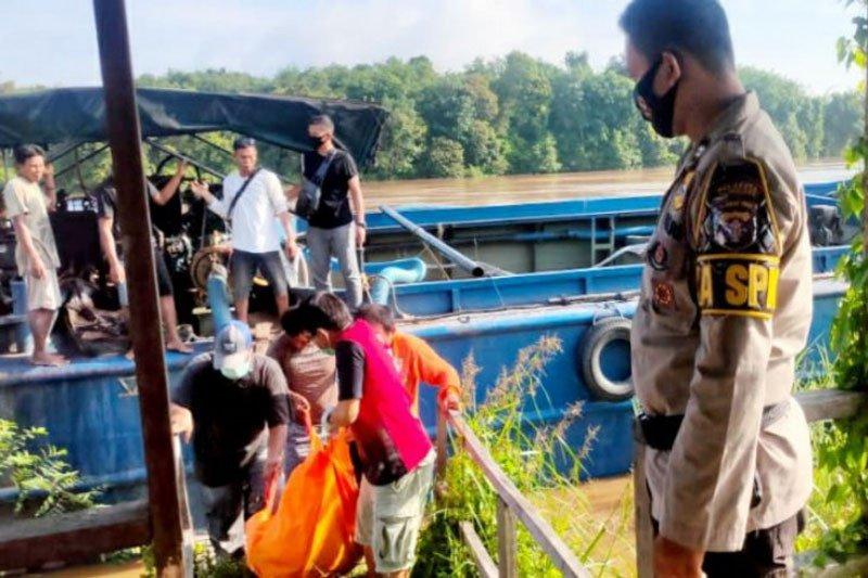 Kapten kapal ditemukan tewas mengapung di Sungai Kahayan Kalteng