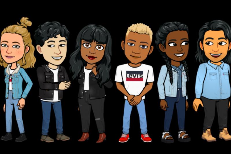 Levi's kolaborasi dengan Bitmoji hadirkan avatar modis