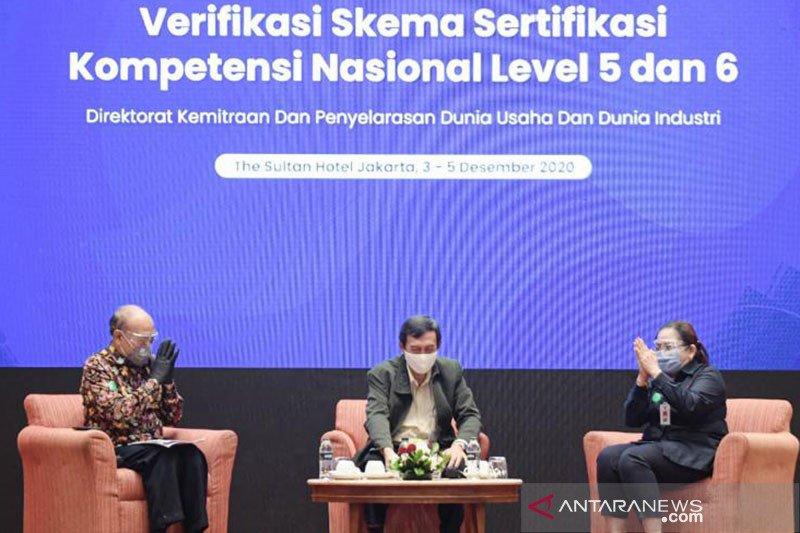 Kemendikbud dan BNSP verifikasi 165 skema sertifikasi nasional