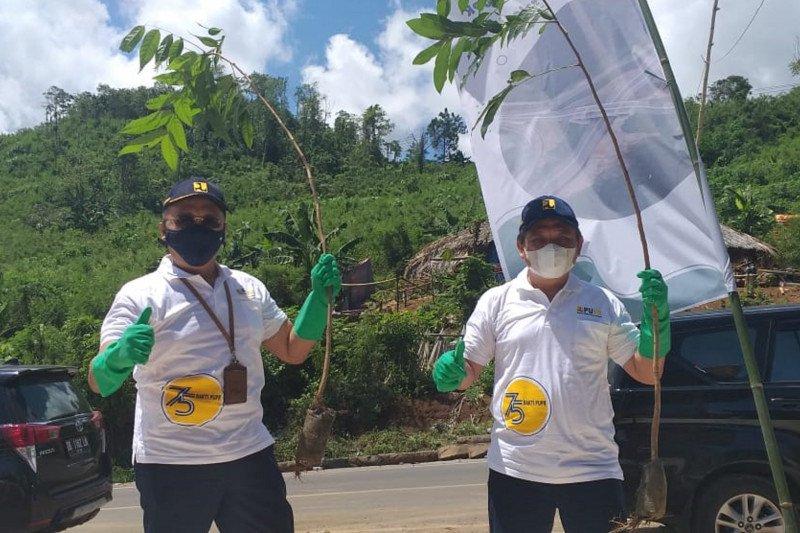 BPJN Sulut lakukan gerakan penanaman pohon di KSPN Likupang