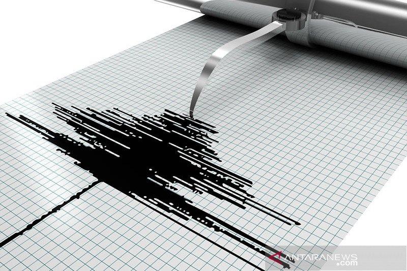 Gempa tektonik magnitudo 5,5 guncang barat daya Melonguane, Sulut