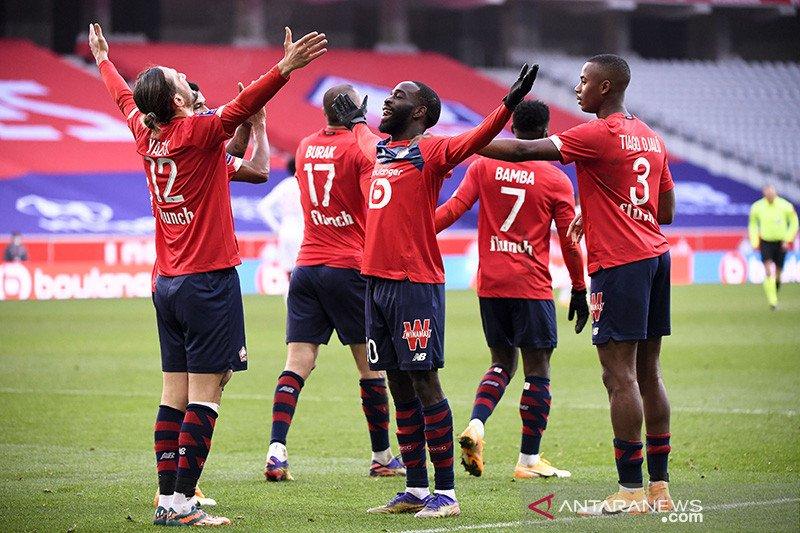 Klasemen Liga Prancis: Lille jaga momentum di puncak
