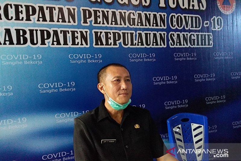 Kasus positif COVID-19 di Sangihe bertambah tujuh menjadi 53 orang