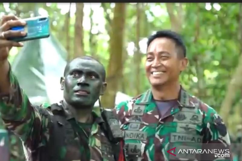 Jenderal TNI Andika Perkasa semangati prajurit jalani latihan tempur