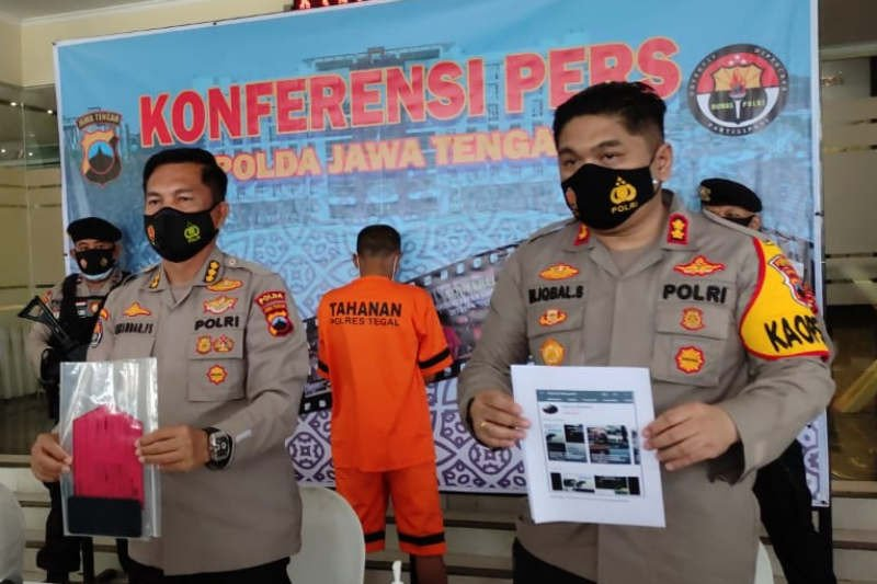 Dua pelaku unggahan video adzan berisi ajakan jihad di Tegal diringkus