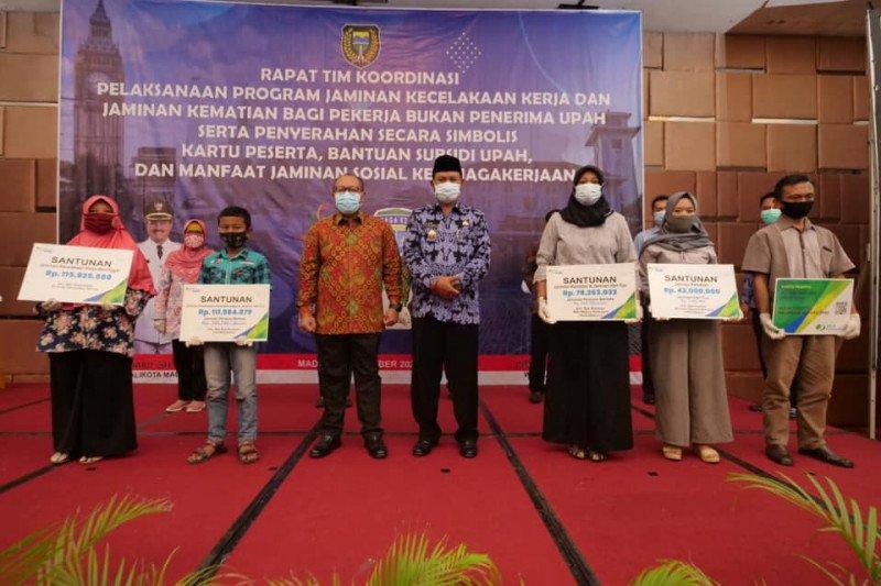 Dirut BPJAMSOSTEK apresiasi Pemkot Madiun akomodasi pekerja informal