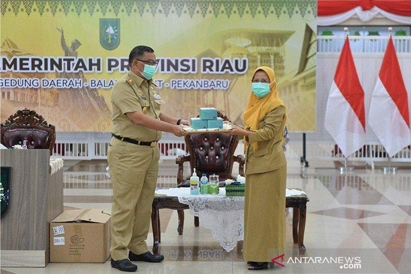Riau dapat bantuan 800.000 masker dari Singapura