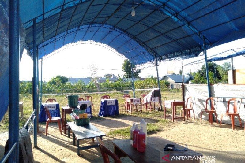 KPU Sigi: 90 persen TPS sudah terbangun di 176 desa