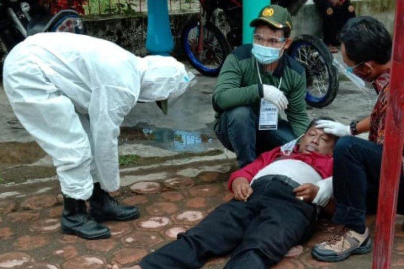Warga Desa Soso Kabupaten Blitar meninggal dunia setelah mencoblos