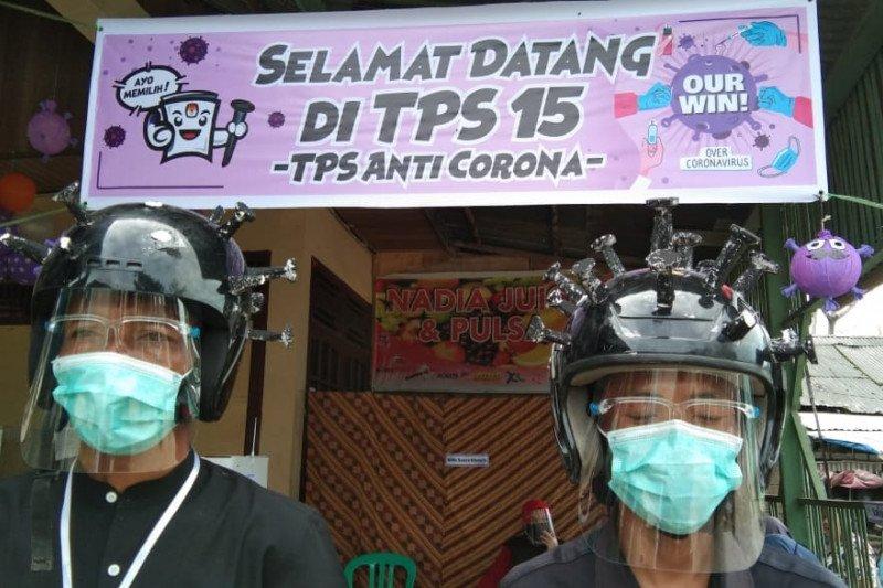 Di Padang ada TPS bertemakan Anti Corona