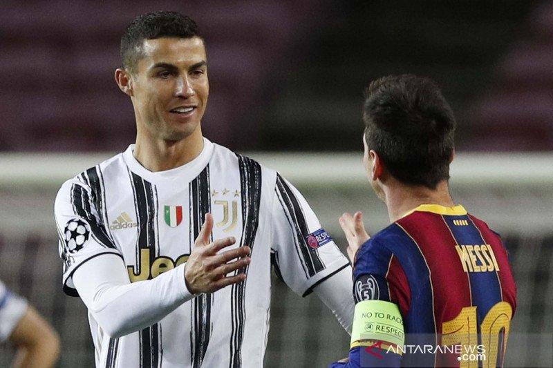 Liga Champions : Ronaldo cetak dua gol, Juventus permalukan Barcelona 3-0