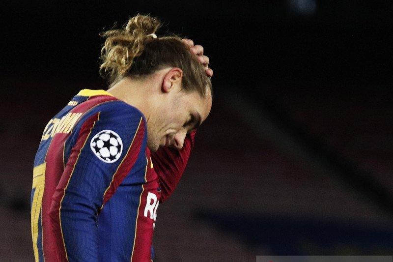Griezmann sebut Barca main tanpa berkeinginan menang saat dihajar Juve