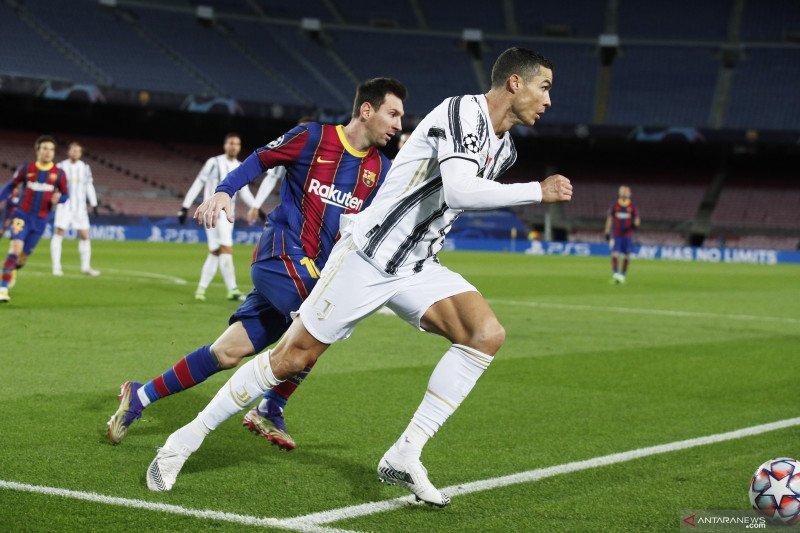 Cristiano Ronaldo tidak anggap Lionel Messi sebagai rival