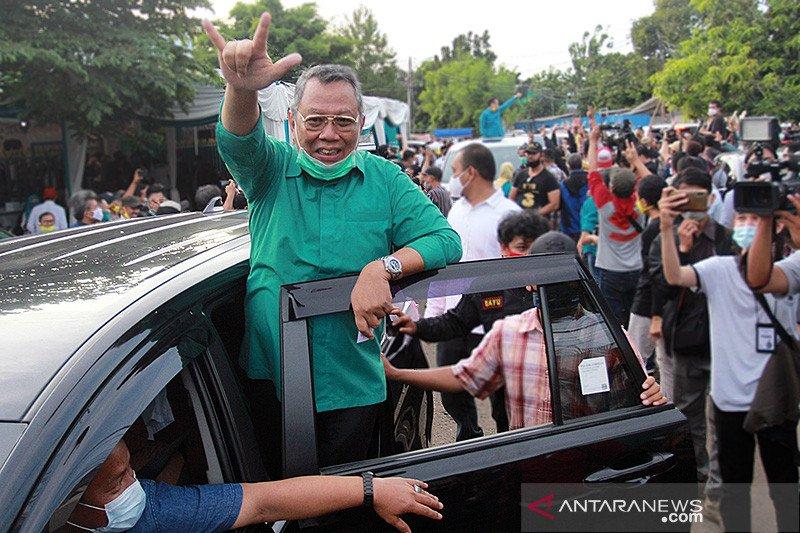 Benyamin-Pilar raih suara terbanyak di Pilkada Tangerang Selatan