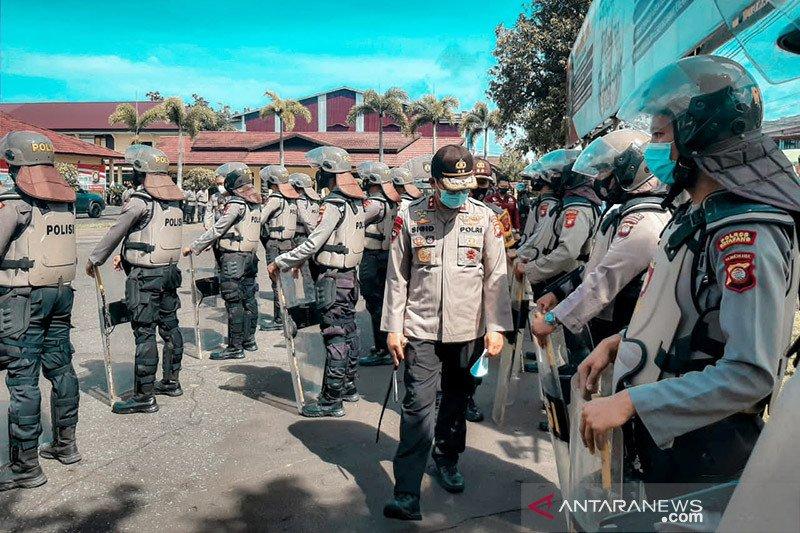 Polda Kalbar kerahkan 2.500 personel polisi amankan pilkada